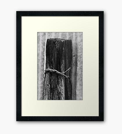 Textures #1 Framed Print