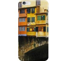Ponte Vecchio - Florence, Italy iPhone Case/Skin