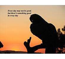 It's A Good Day Photographic Print