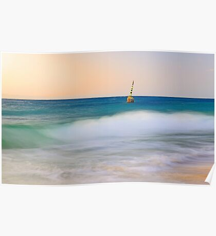 Cottesloe Beach Pylon - Western Australia  Poster