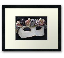 A little romance Framed Print