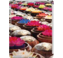 Colourful Wax Flower Trinkets iPad Case/Skin
