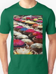 Colourful Wax Flower Trinkets T-Shirt