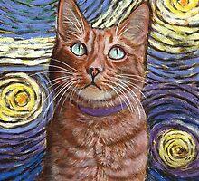 Van Gogh's Sky by artbyakiko