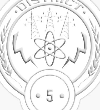 District 5 - Power Sticker