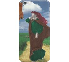 "Forget The Barefoot Maiden"" Routine;Next Time I'm Wearing Some Shoes! iPhone Case/Skin"