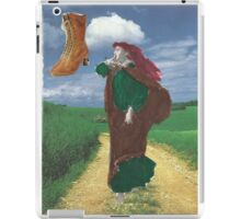 """Forget The Barefoot Maiden"""" Routine;Next Time I'm Wearing Some Shoes! iPad Case/Skin"""