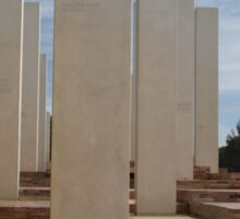 Mandurah War Memorial Sticker