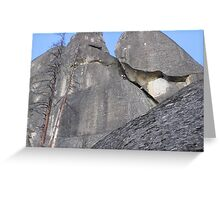 Up the Rock Greeting Card