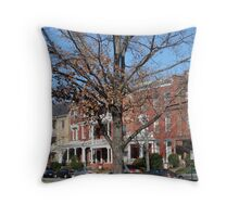 A Tree Grows In Richmond Throw Pillow