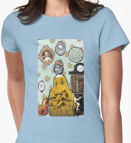 Colonial Dollhouse Womens Fitted T-Shirt