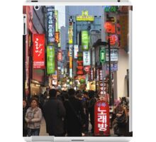 Even At Night, Myeondong is Crowded (Seoul, Korea) iPad Case/Skin