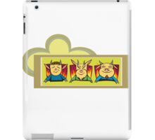 Devil trio iPad Case/Skin