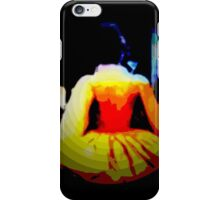 THE DANCE,  after midnight, ABSTRACT, modern iPhone Case/Skin