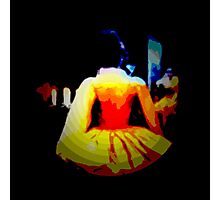 THE DANCE,  after midnight, ABSTRACT, modern Photographic Print