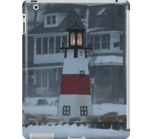 Snowy Afternoon at the Bluff iPad Case/Skin