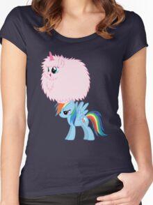 PFUDORainbow Dash Women's Fitted Scoop T-Shirt