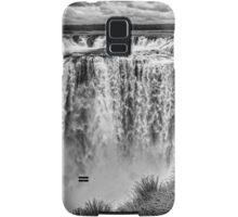 Iguazu Falls - From river level - monochrome Samsung Galaxy Case/Skin