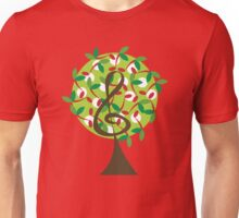 Musical Cherry Notes Tree Unisex T-Shirt