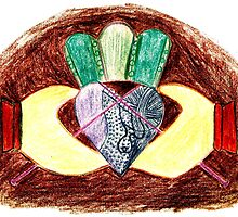 The Knitting Claddagh 2 by sisterphipps