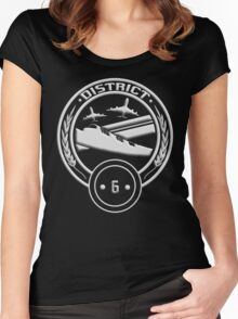 District 6 - Transportation Women's Fitted Scoop T-Shirt