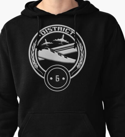 District 6 - Transportation Pullover Hoodie