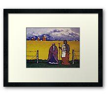 Native Gothic Framed Print