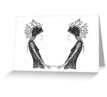 Forrest Queen Greeting Card