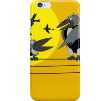 Funny birds iPhone Case/Skin