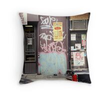 Cityscapes Throw Pillow