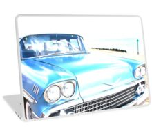 Bright Bleached Cadillac Hood Laptop Skin