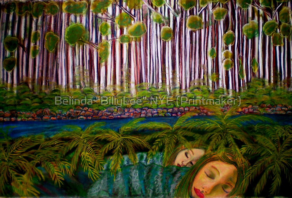 """Her Dreams Come True by Belinda """"BillyLee"""" NYE (Printmaker)"""