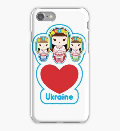 Three Matryoshka Babushka Dolls iPhone Case/Skin