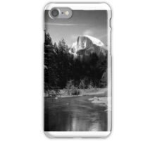 Half-Dome in Yosemite - a tribute to Ansel Adams iPhone Case/Skin