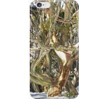 Colours of an entwined Snow Gum iPhone Case/Skin