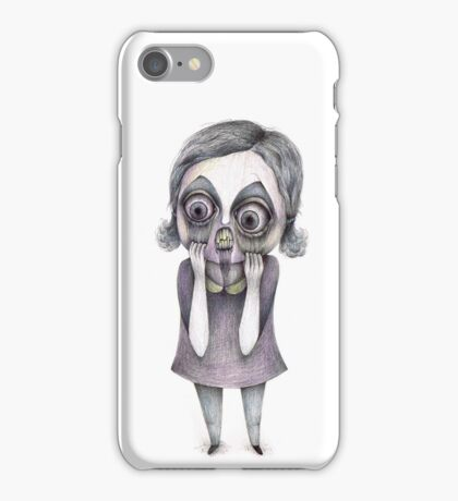 """Claw"" surreal drawing iPhone Case/Skin"