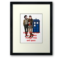 doctor boosh Framed Print