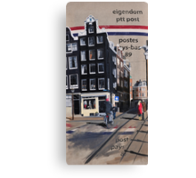 Letter from Amsterdam Canvas Print