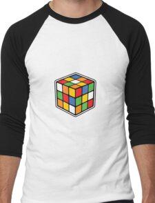 Booby Cube Men's Baseball ¾ T-Shirt