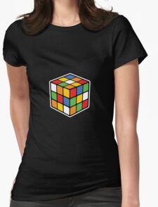 Booby Cube Womens Fitted T-Shirt