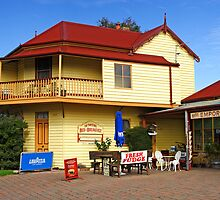 Two Storey Bed and Breakfast at Central Tilba by Darren Stones