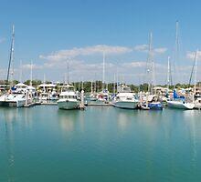 Cullen Bay Marina, Darwin. by Matthew Reid