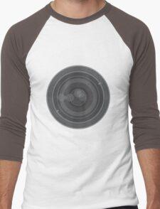 18-200mm Lens Vector Men's Baseball ¾ T-Shirt