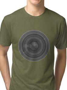 18-200mm Lens Vector Tri-blend T-Shirt