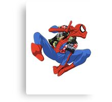 Aloha Spider-Man Canvas Print
