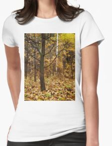 Lonely oak Womens Fitted T-Shirt