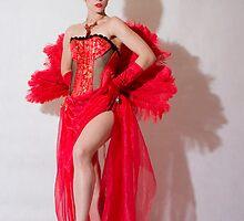 A Scarlett Rose by Paula Delley
