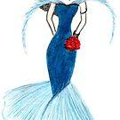Blue lady by peyote