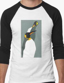 Penguin Pair Men's Baseball ¾ T-Shirt