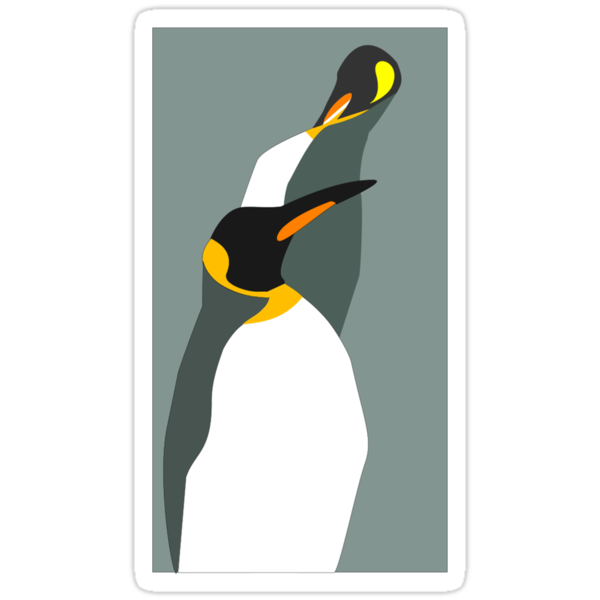 Penguin Pair by Adele Gregory